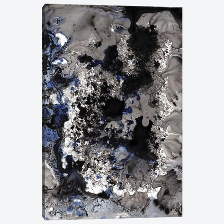Blue Marble Canvas Print #HLU12} by Hodaya Louis Canvas Art