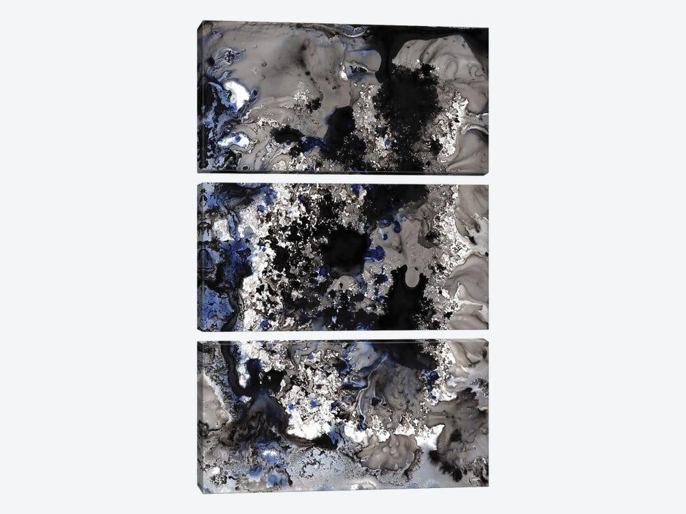 Blue Marble by Hodaya Louis 3-piece Art Print