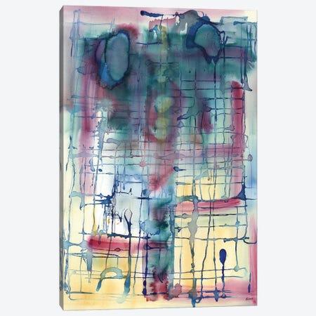 Broadway 3-Piece Canvas #HLU14} by Hodaya Louis Canvas Art Print