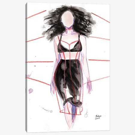 Chromat Canvas Print #HLU19} by Hodaya Louis Canvas Artwork