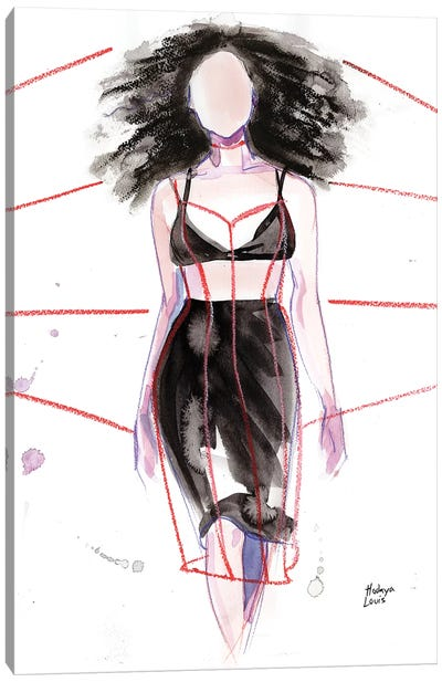 Chromat Canvas Art Print