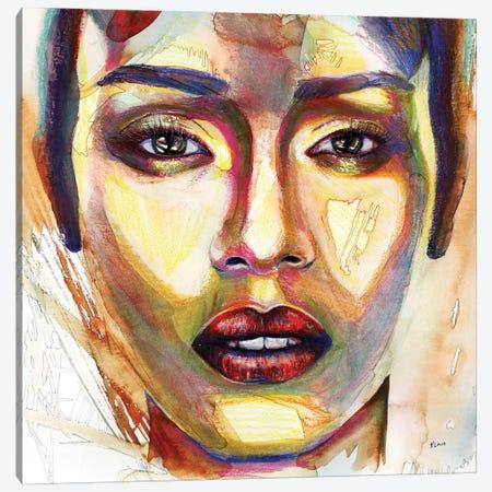 Addis Canvas Print #HLU1} by Hodaya Louis Canvas Wall Art