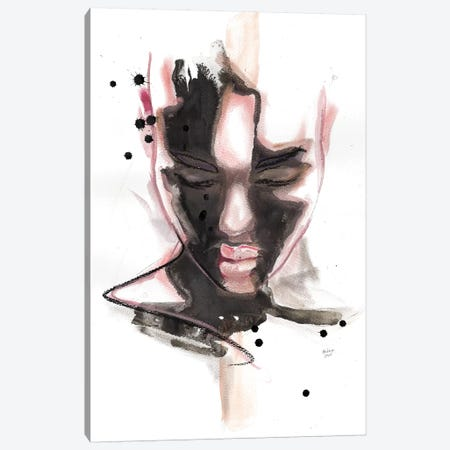 Ciara Canvas Print #HLU20} by Hodaya Louis Art Print