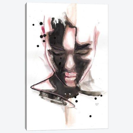 Ciara Canvas Print #HLU20} by Hodaya Louis Art Print