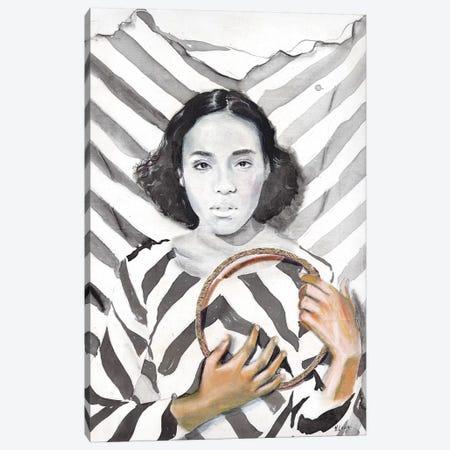 Close To My Heart Canvas Print #HLU22} by Hodaya Louis Canvas Art Print