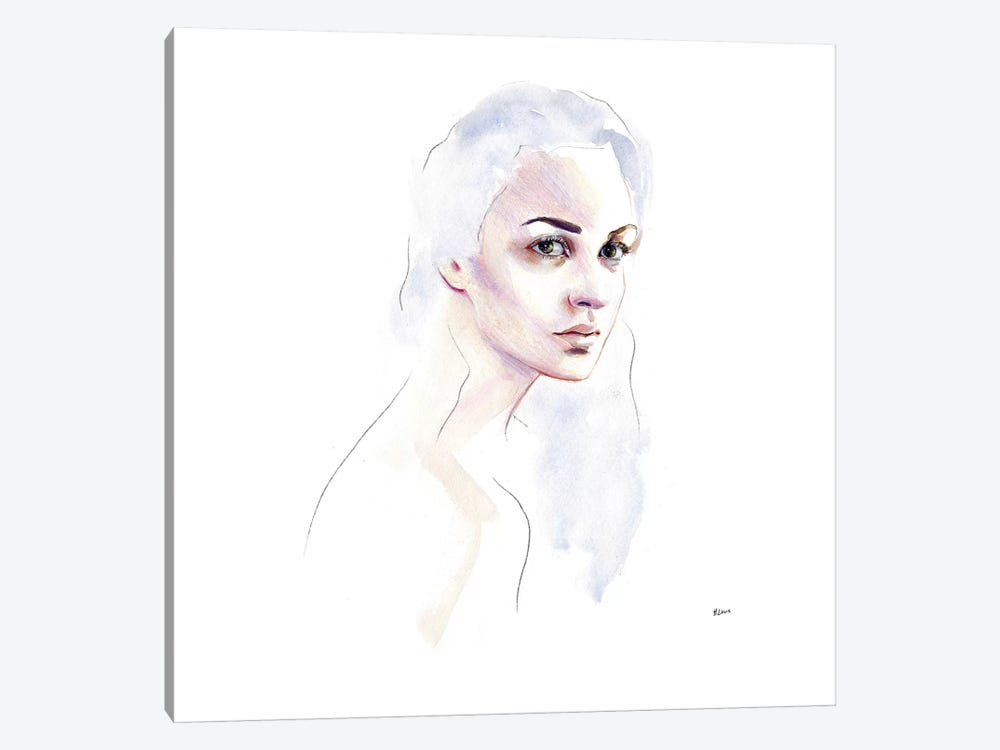 Cloud Hair by Hodaya Louis 1-piece Canvas Print