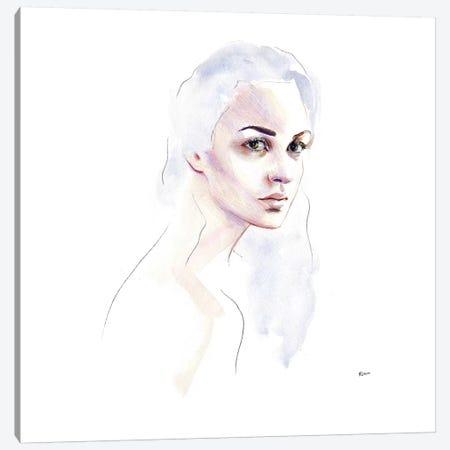Cloud Hair Canvas Print #HLU23} by Hodaya Louis Canvas Print