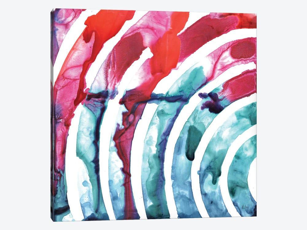 Color Waves by Hodaya Louis 1-piece Canvas Artwork