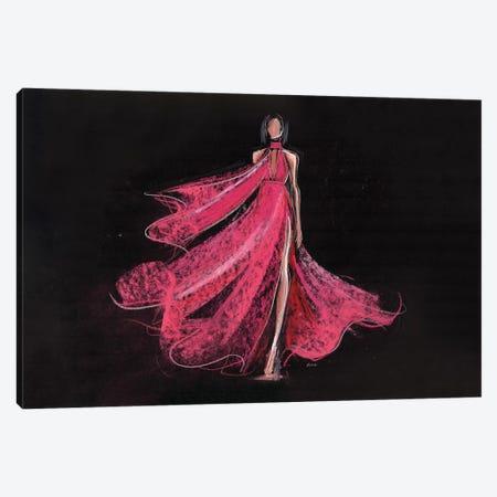 Coral Winds Canvas Print #HLU25} by Hodaya Louis Canvas Artwork