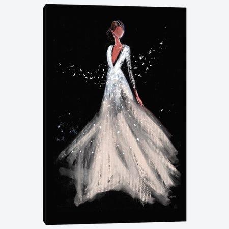 Dreamy Night Canvas Print #HLU33} by Hodaya Louis Canvas Artwork