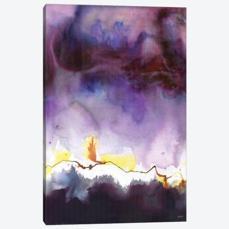 Fireflies Canvas Print #HLU36} by Hodaya Louis Canvas Art Print