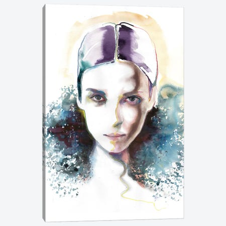 Helena Canvas Print #HLU45} by Hodaya Louis Canvas Art