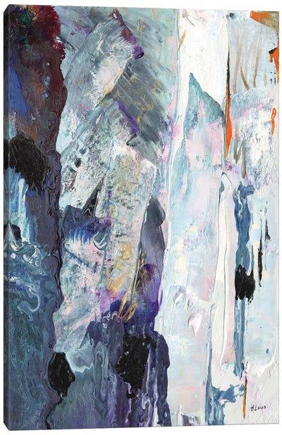 Icebergs Canvas Art Print