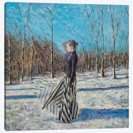 January Canvas Print #HLU51} by Hodaya Louis Canvas Art