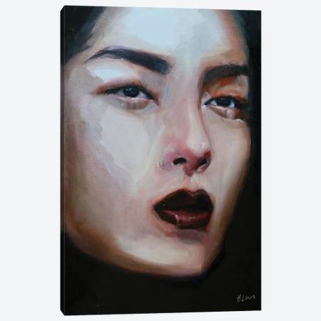 Lina Canvas Print #HLU56} by Hodaya Louis Canvas Art Print