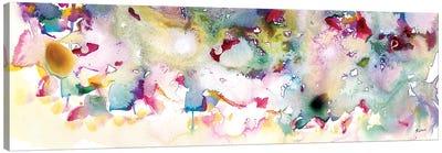 Magenta Field Canvas Art Print