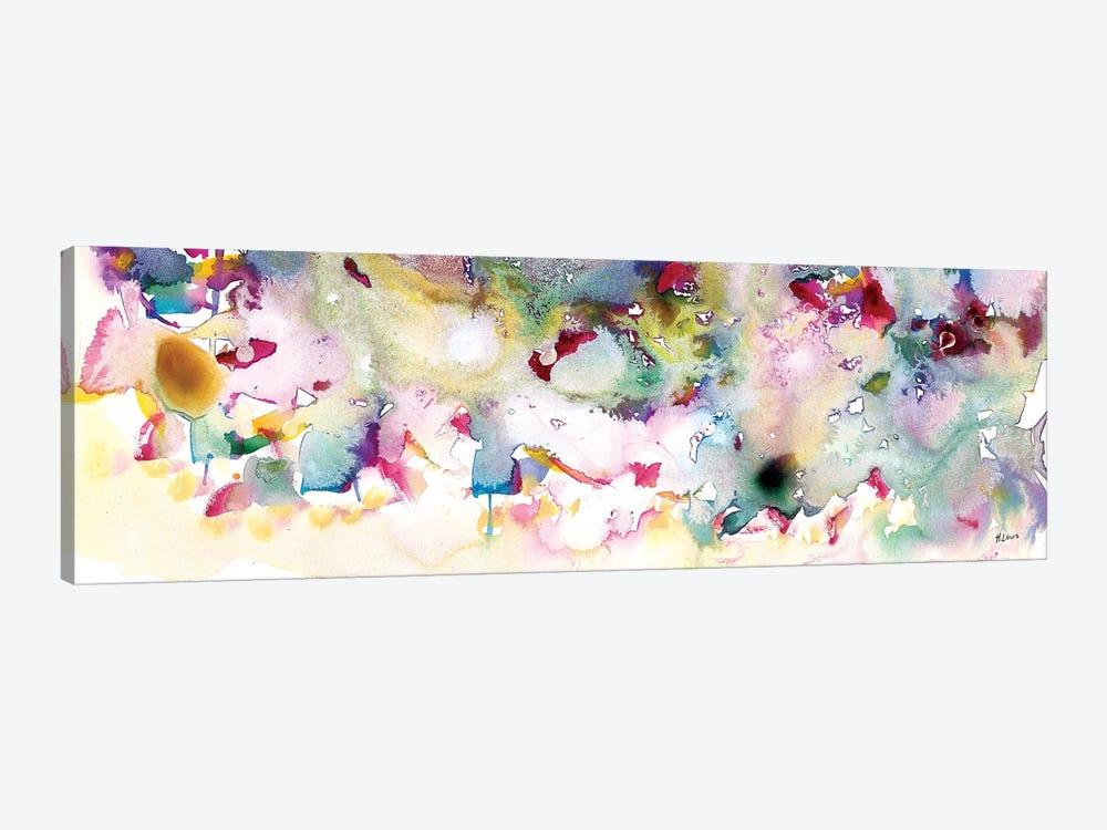 Magenta Field by Hodaya Louis 1-piece Canvas Art