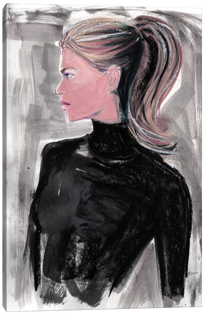 Alyssa Canvas Art Print