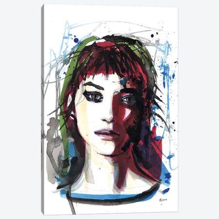 Marion Canvas Print #HLU62} by Hodaya Louis Art Print