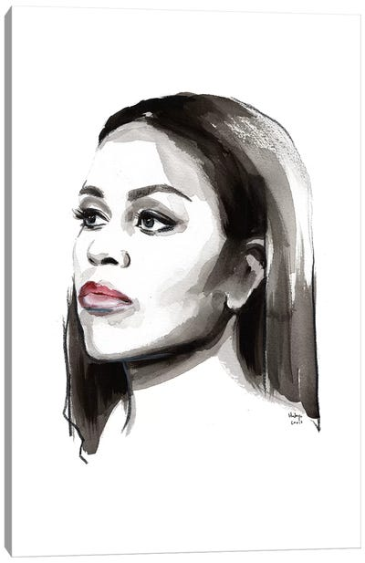 Michelle Obama Canvas Art Print