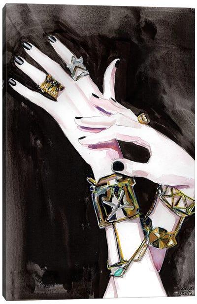 Milan Chic Canvas Art Print