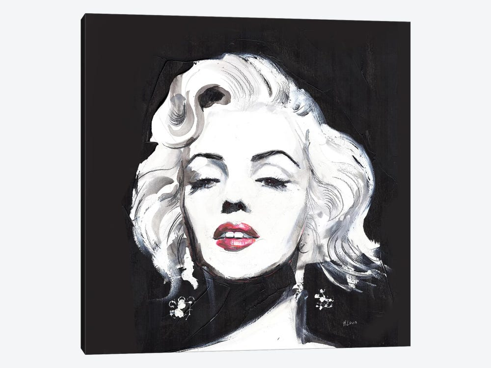 Miss Monroe by Hodaya Louis 1-piece Art Print