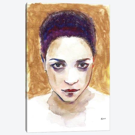 Angela Canvas Print #HLU6} by Hodaya Louis Canvas Print