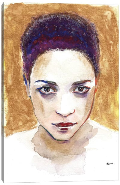 Angela Canvas Art Print