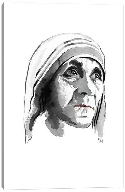Mother Teresa Canvas Art Print