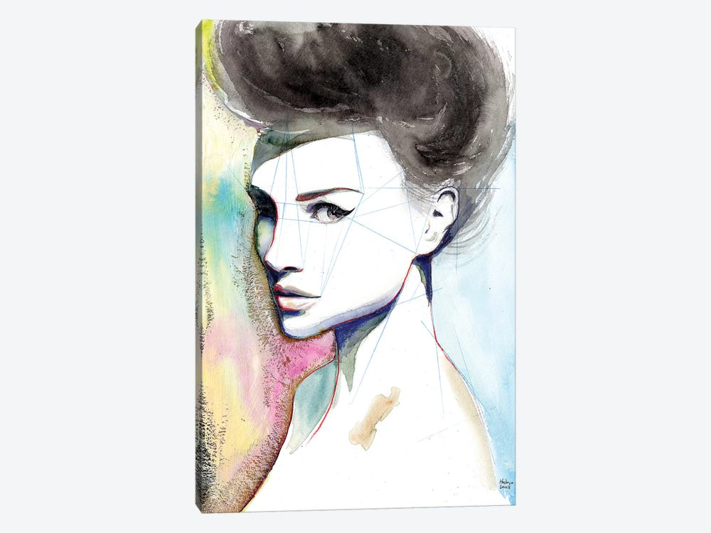 Natalie by Hodaya Louis 1-piece Canvas Wall Art