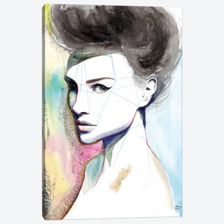 Natalie Canvas Print #HLU71} by Hodaya Louis Canvas Artwork