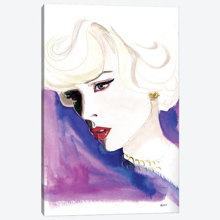 Opera Night Canvas Print #HLU73} by Hodaya Louis Canvas Art