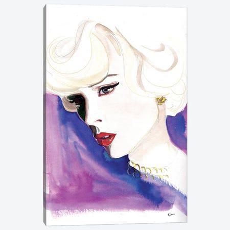 Opera Night Canvas Print #HLU73} by Hodaya Louis Canvas Art