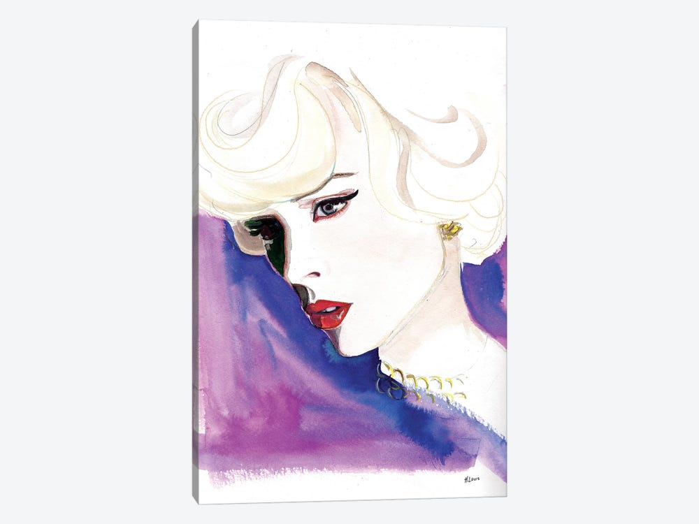 Opera Night by Hodaya Louis 1-piece Canvas Art