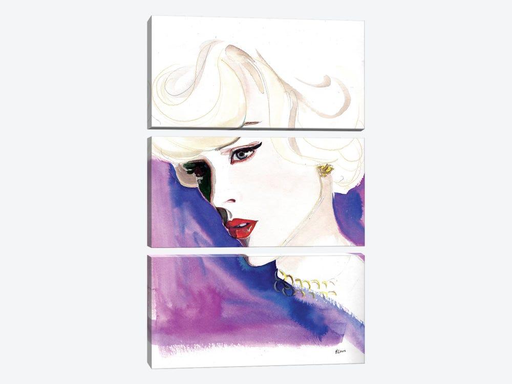 Opera Night by Hodaya Louis 3-piece Canvas Wall Art
