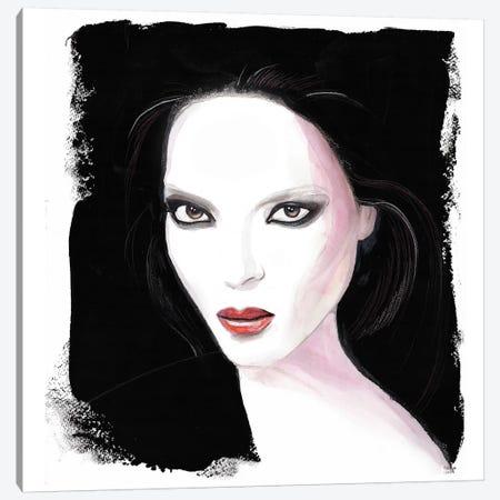 Bedroom Eyes Canvas Print #HLU7} by Hodaya Louis Canvas Art Print