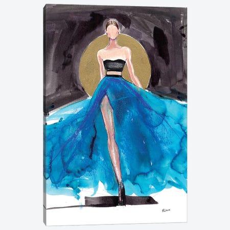Rising Sun 3-Piece Canvas #HLU82} by Hodaya Louis Canvas Art Print