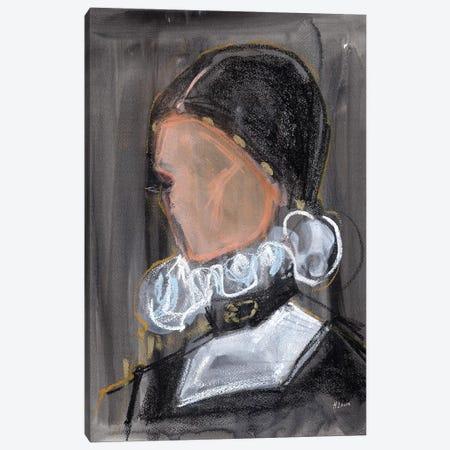 Royal Collar Canvas Print #HLU86} by Hodaya Louis Canvas Artwork