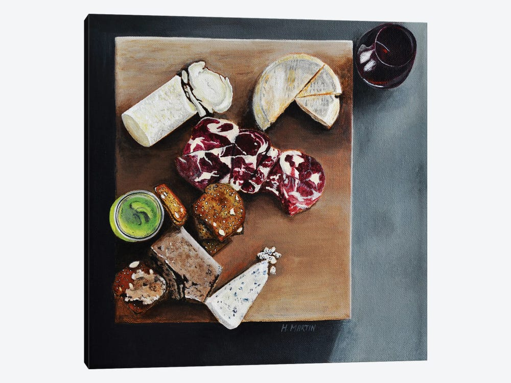 Cheese Please 1-piece Canvas Art