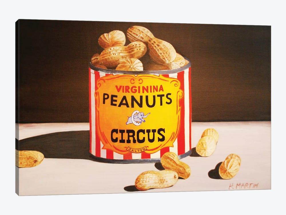 Circus Peanuts by Heidi Martin 1-piece Canvas Print