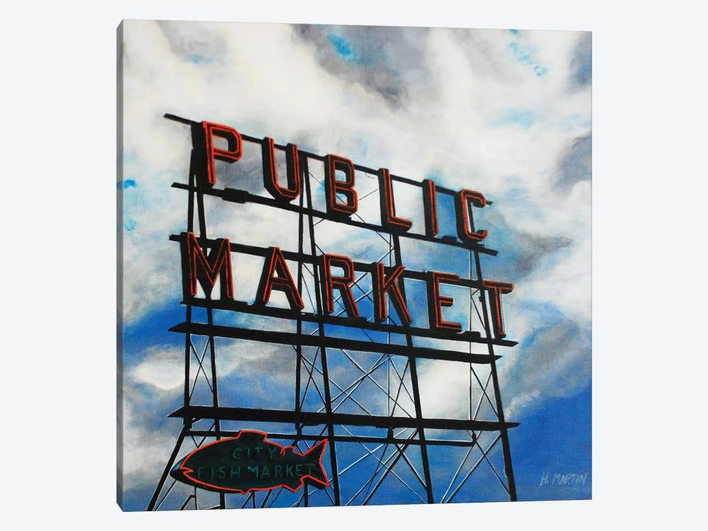City Fish Market by Heidi Martin 1-piece Canvas Art
