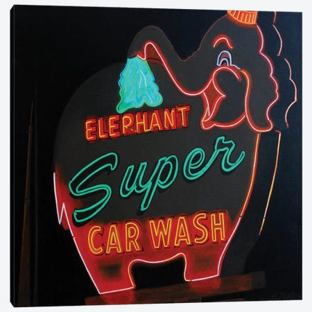 Super Wash 3-Piece Canvas #HMA6} by Heidi Martin Canvas Art Print