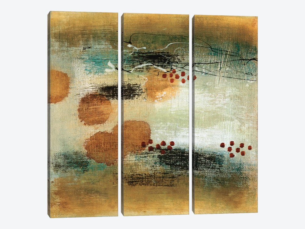 Drifting Current II by Heather McAlpine 3-piece Canvas Art Print