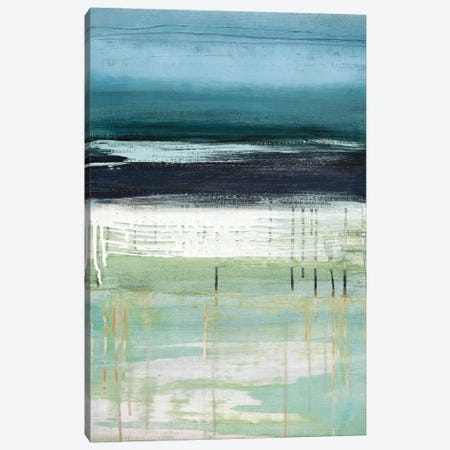 Sea And Sky I Canvas Print #HMC16} by Heather McAlpine Canvas Art