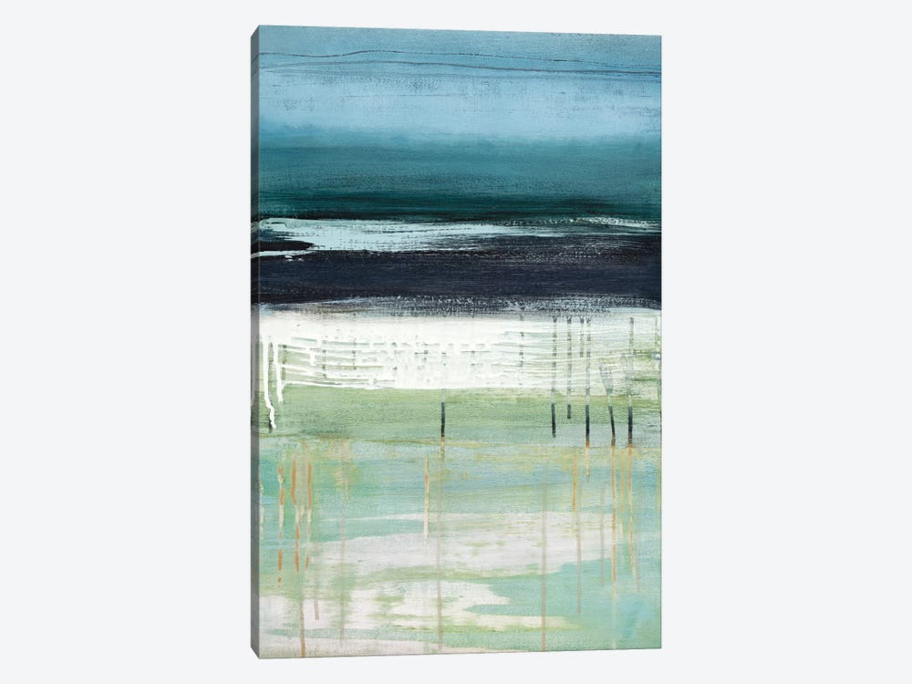 Sea And Sky I by Heather McAlpine 1-piece Canvas Art