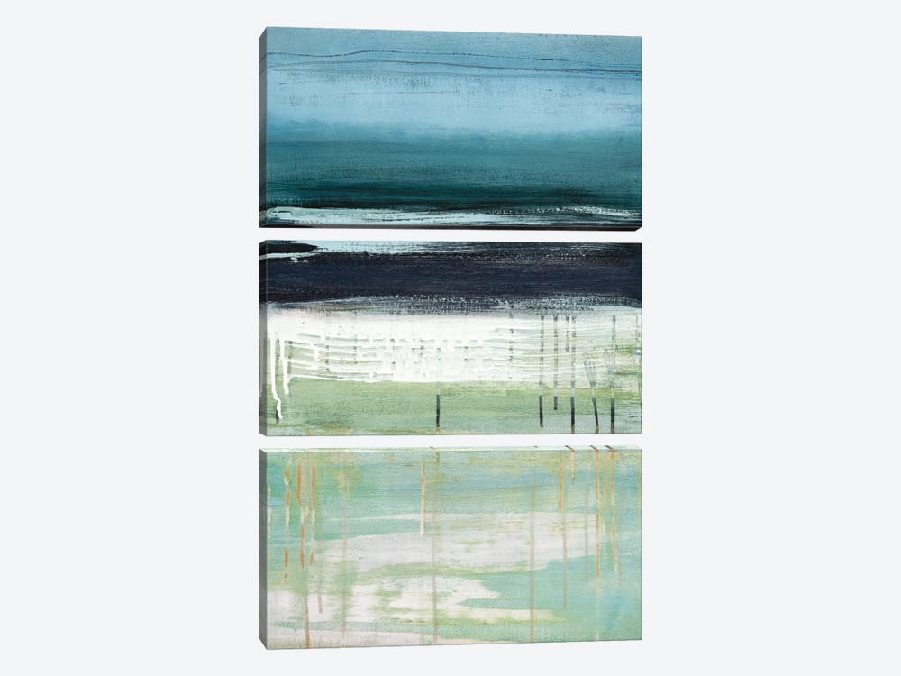 Sea And Sky I by Heather McAlpine 3-piece Canvas Artwork