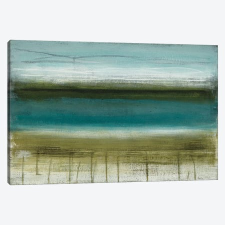 Shoreline Horizons Canvas Print #HMC21} by Heather McAlpine Canvas Artwork