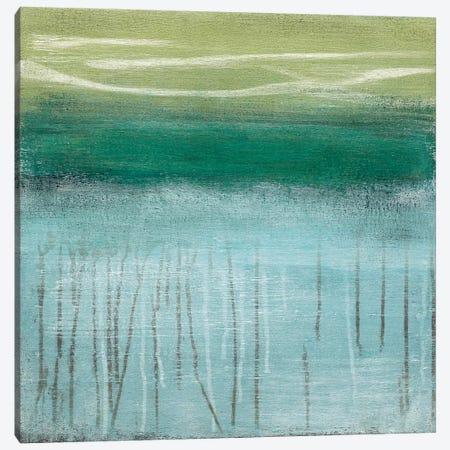 Shoreline Memories I Canvas Print #HMC22} by Heather McAlpine Canvas Art