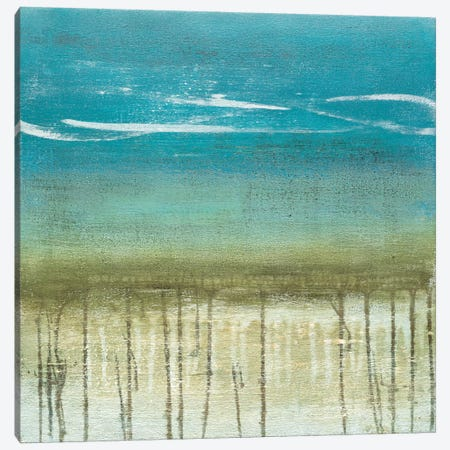 Shoreline Memories II Canvas Print #HMC23} by Heather McAlpine Canvas Artwork