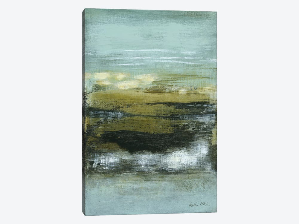 Coastline II by Heather McAlpine 1-piece Canvas Art